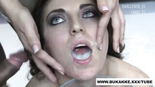 Bukkake pornó